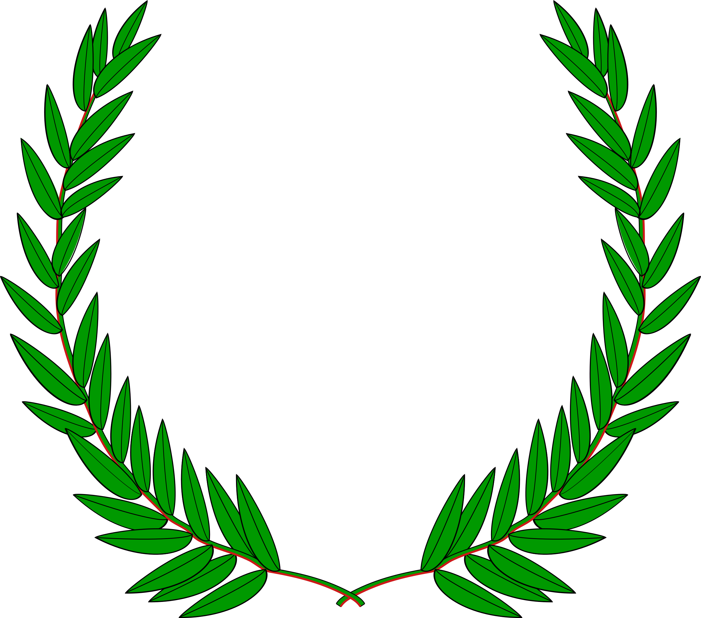 Wreath icons png free. Laurel clipart green