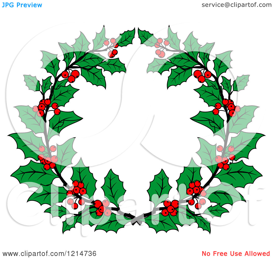 Laurel clipart holly. Wreath images free download