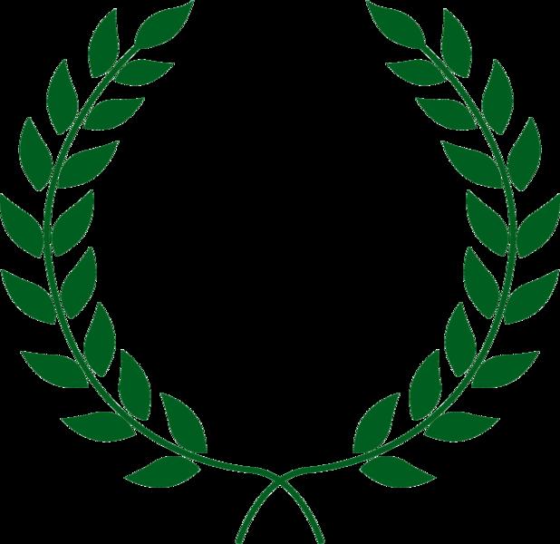 Laurel clipart laurel leaves. Wreath psd official psds