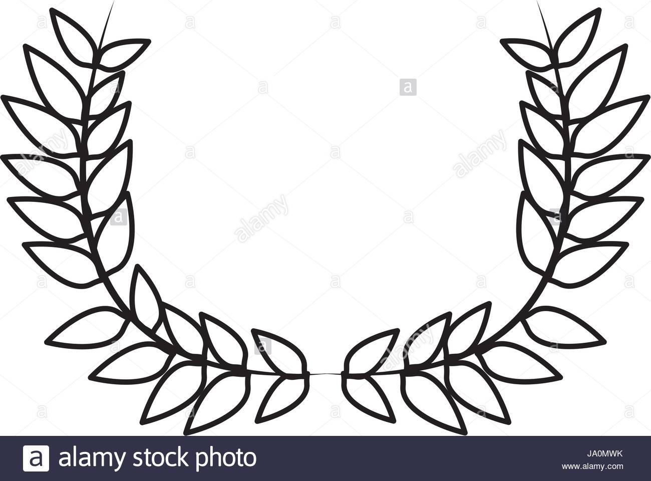 Laurel clipart leaf decoration. Clip art free download