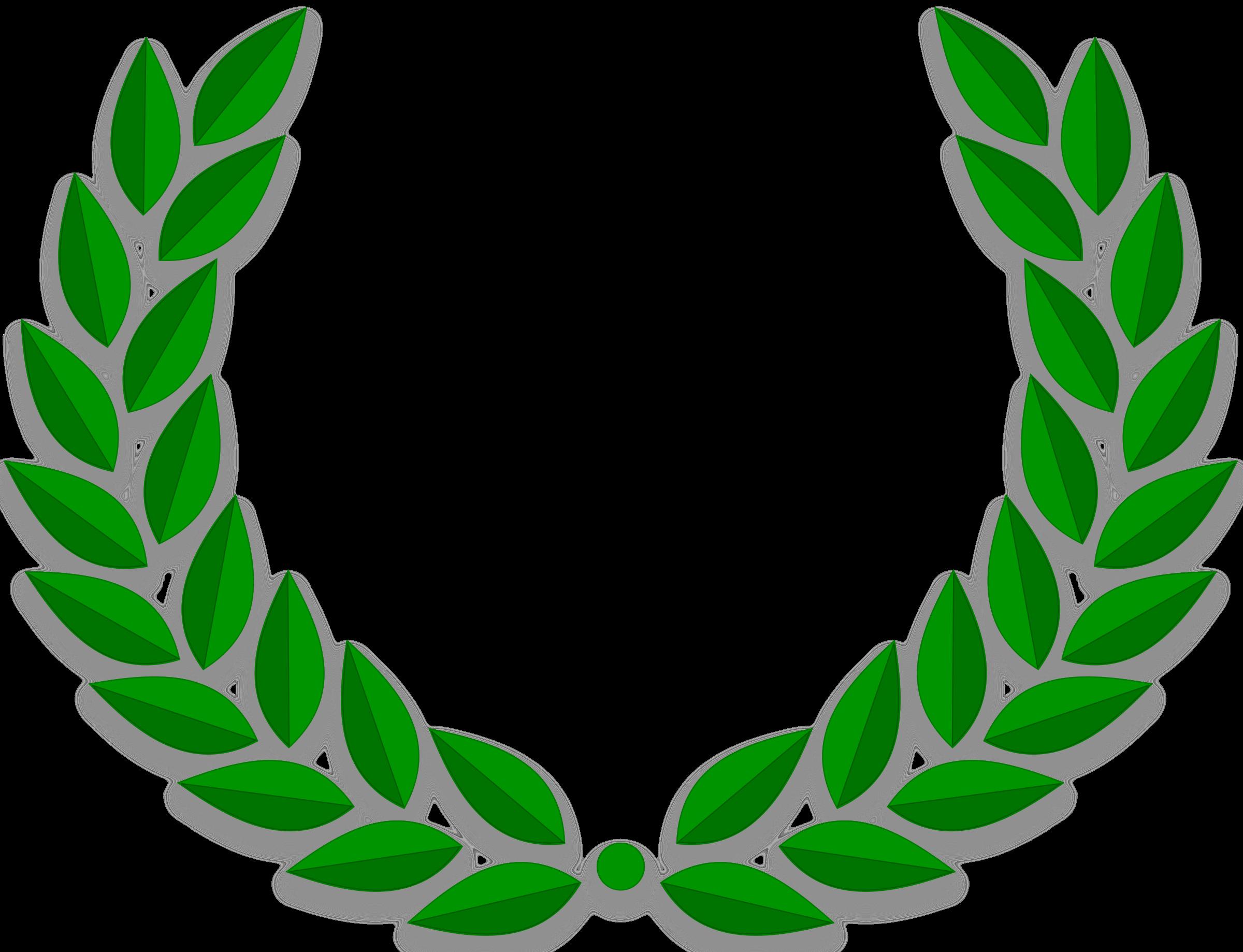 Laurel clipart olympic. Wreath big image png