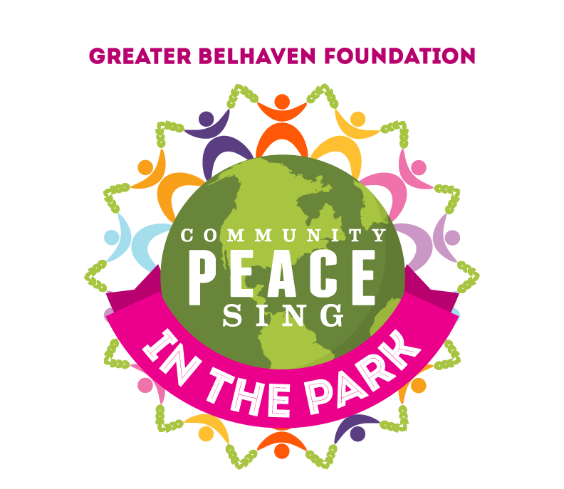 Peace sing in the. Neighbors clipart peaceful community