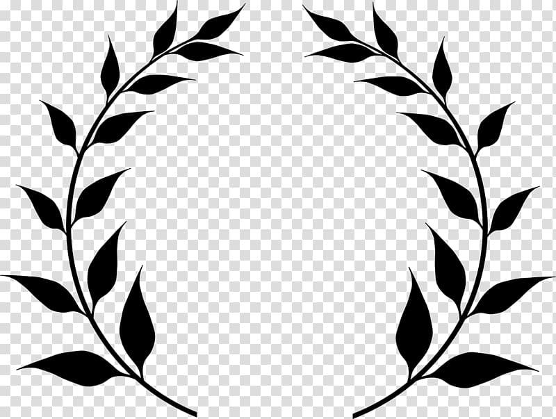 Bay wreath leaf transparent. Laurel clipart real