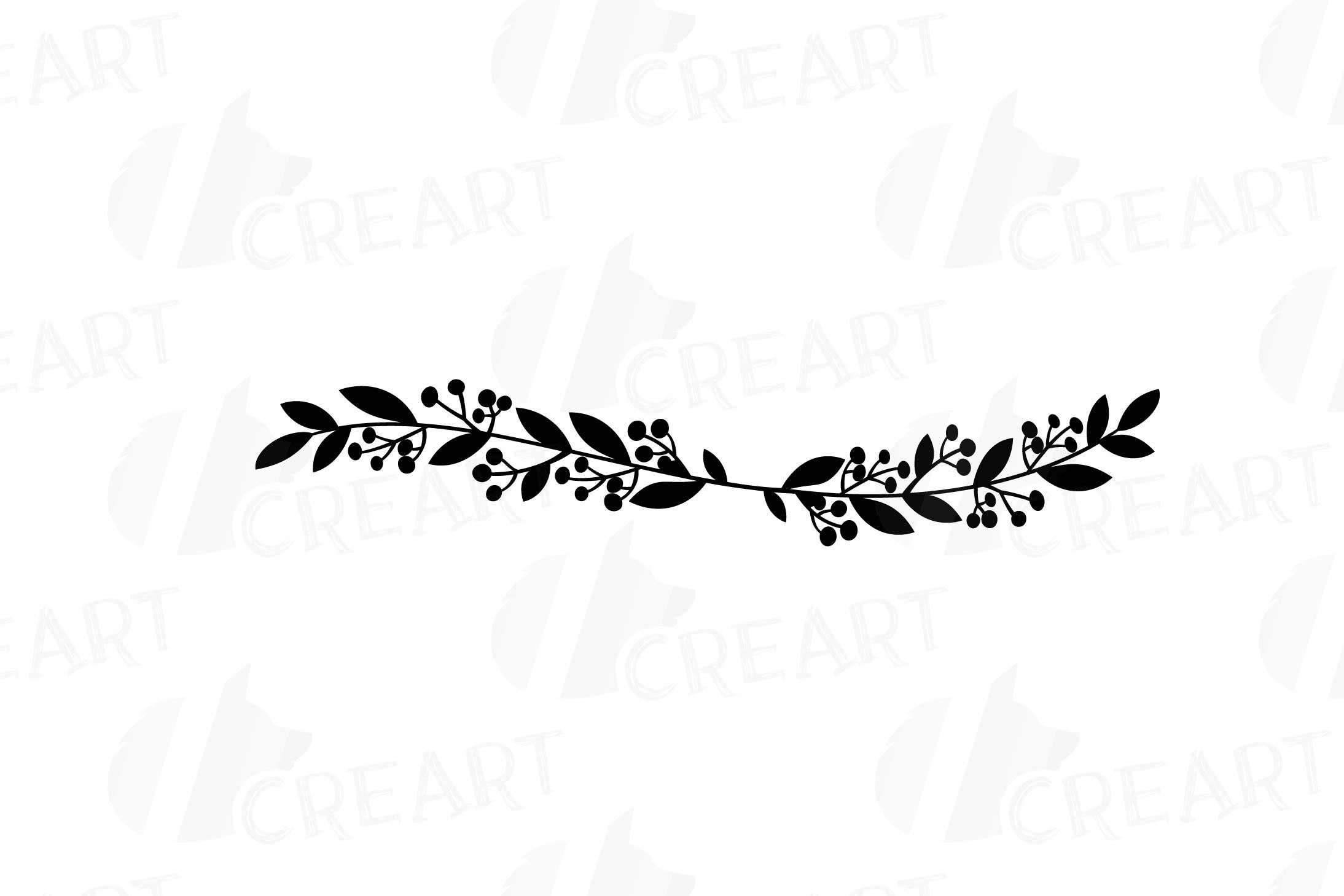 Wreath monogram frames . Laurel clipart silhouette