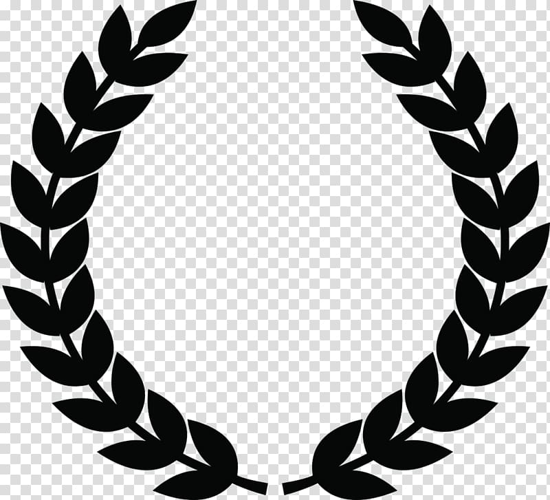 Wreath olive icon transparent. Laurel clipart weath