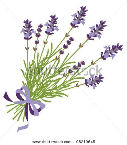 Flowers free best images. Lavender clipart