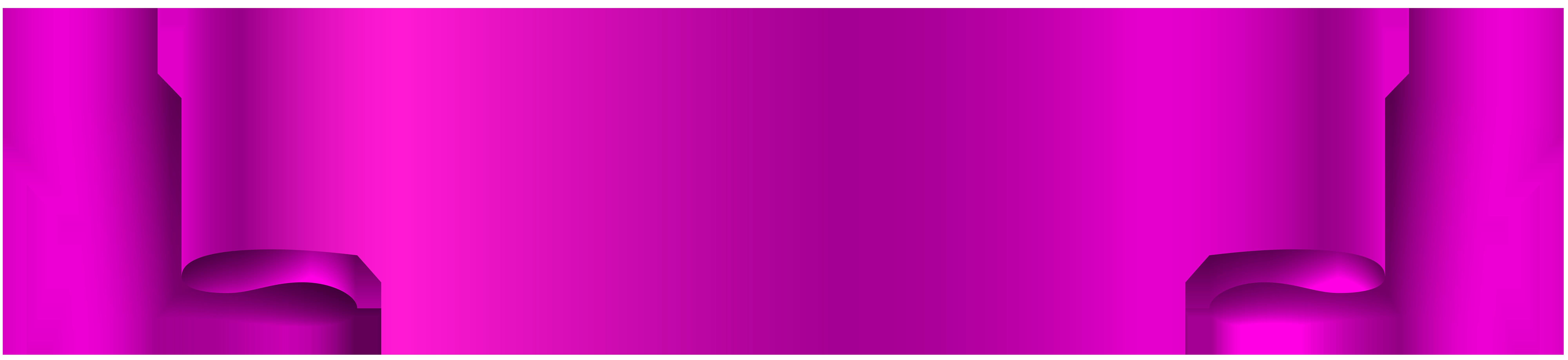Pink transparent clip art. Purple clipart banner
