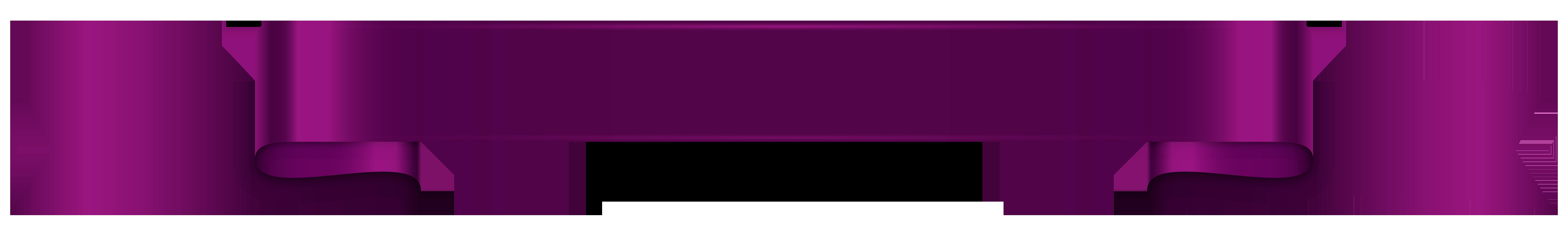 Purple clipart banner. Transparent png clip art