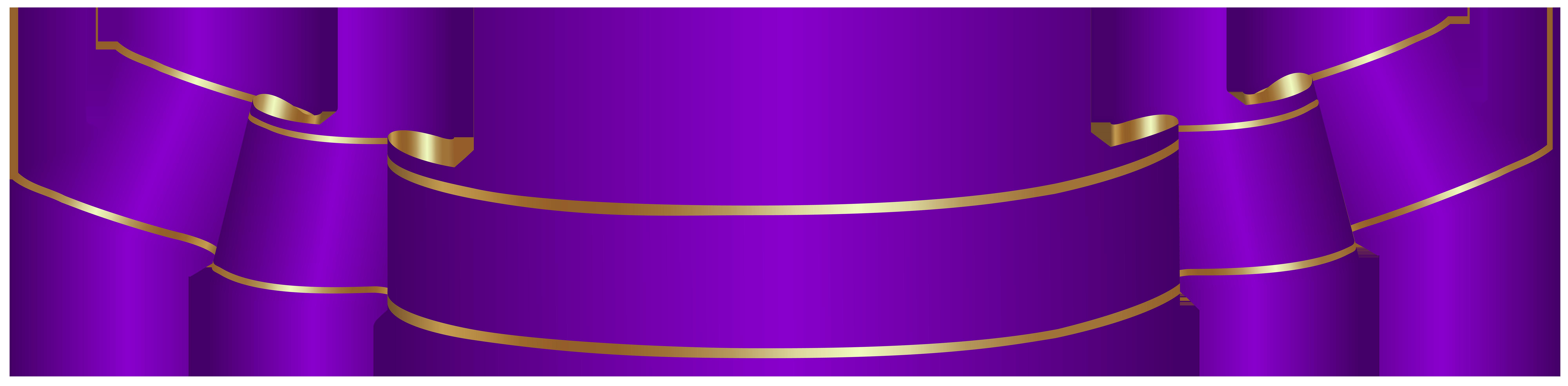 Purple clipart banner. Ribbon clip art pink