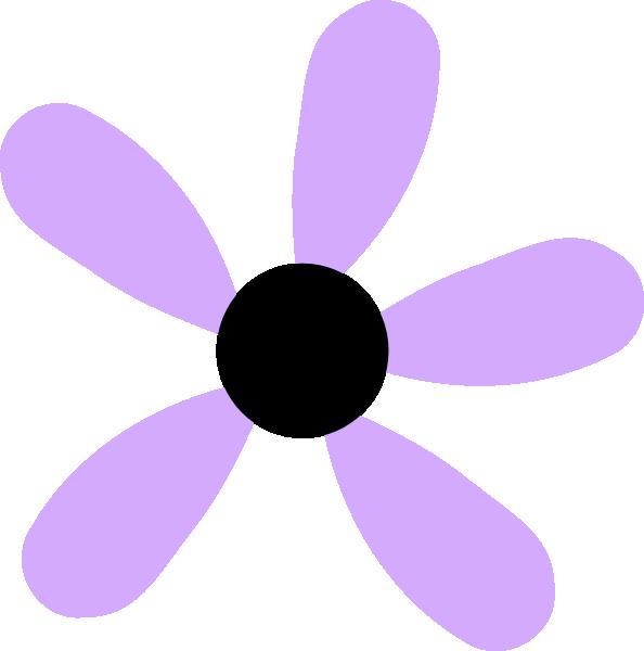 Lavender clipart cartoon. Lilac flower five clip