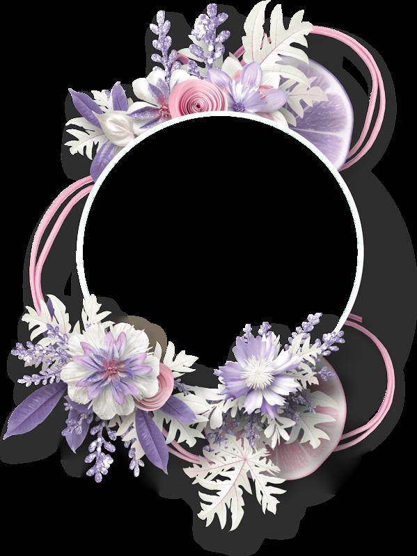 ed png blumenkranz. Lavender clipart decorative wreath