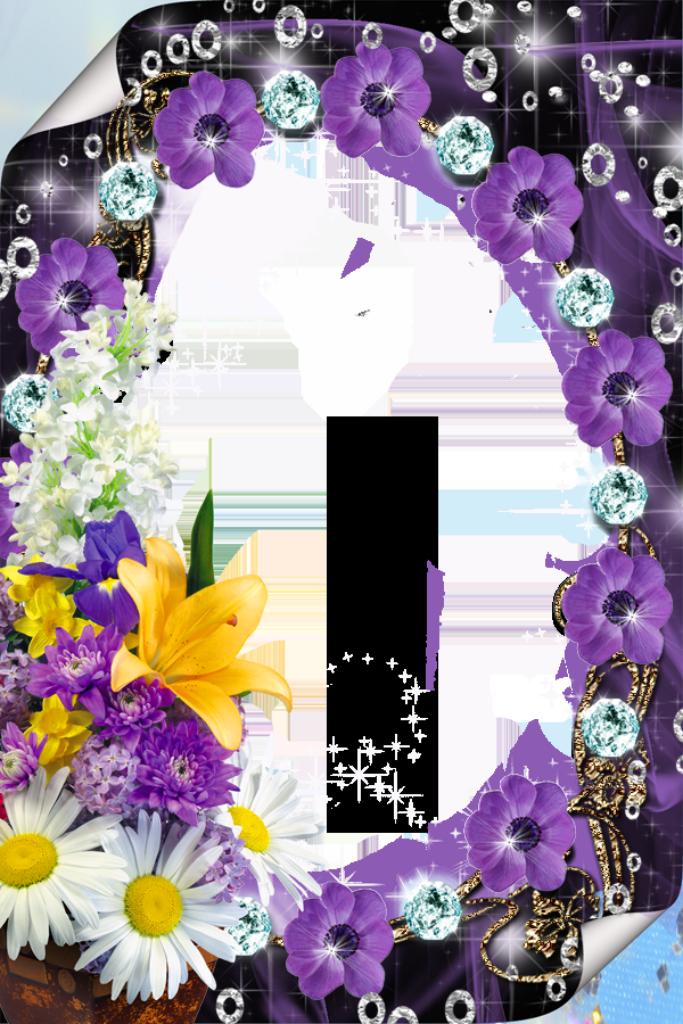 Lavender clipart decorative wreath. Purple flower borders and