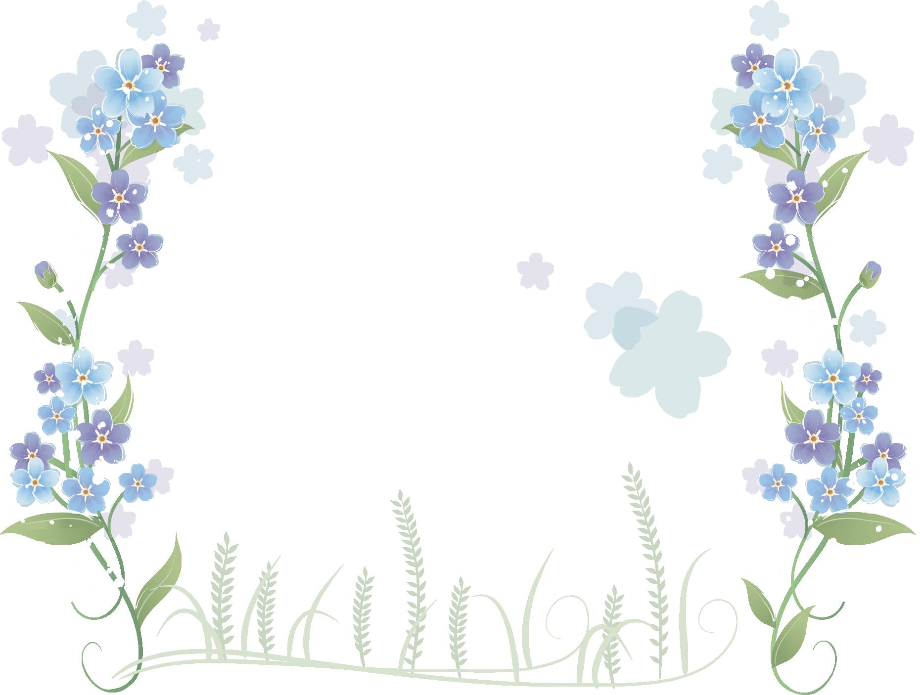 Lavender clipart delphinium. Flower blue hand painted
