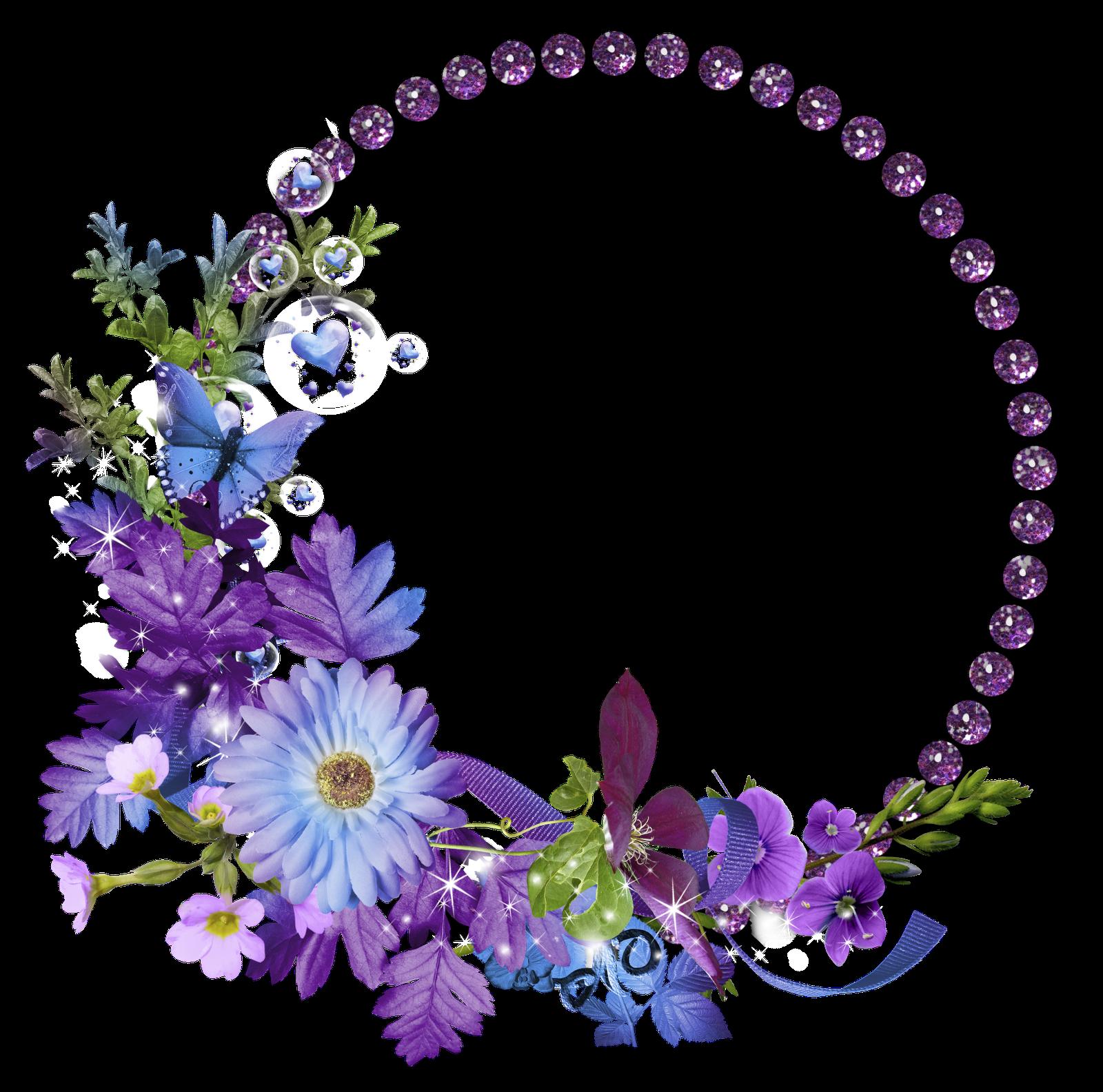 Lavender clipart graphics fairy.  molduras arredondadas