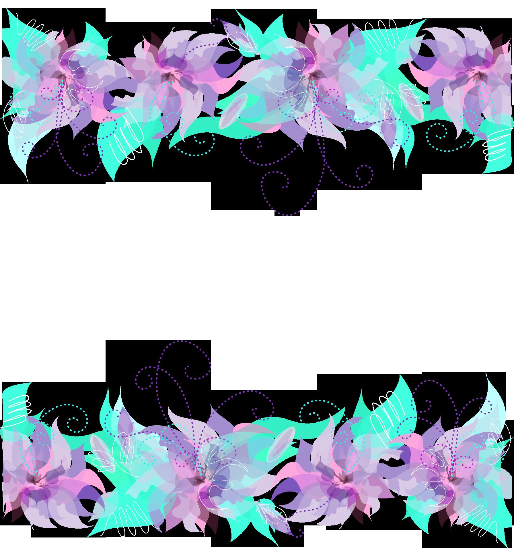 Pink purple and blue. Lavender clipart lavender floral