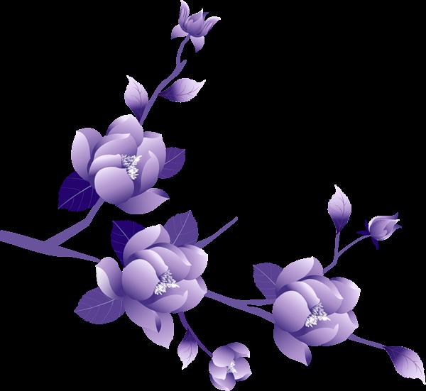 Transparent painted large clipsrt. Lavender clipart light purple flower