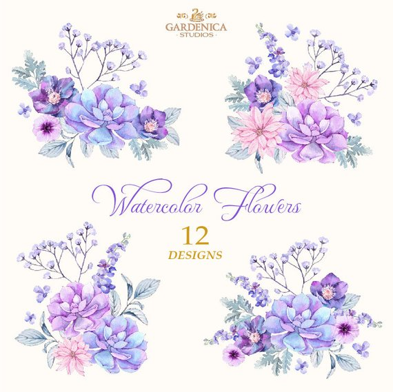 Pin on products . Lavender clipart light purple flower