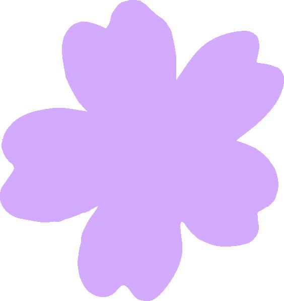 Clip art at clker. Lavender clipart light purple flower
