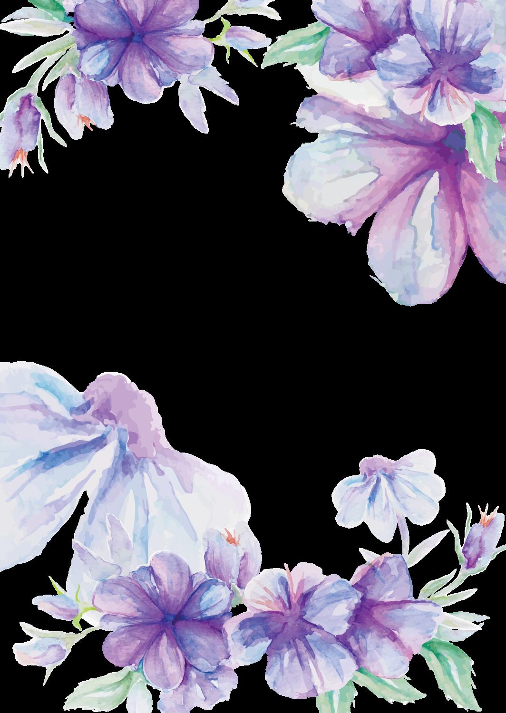 magnolia clipart lavendar