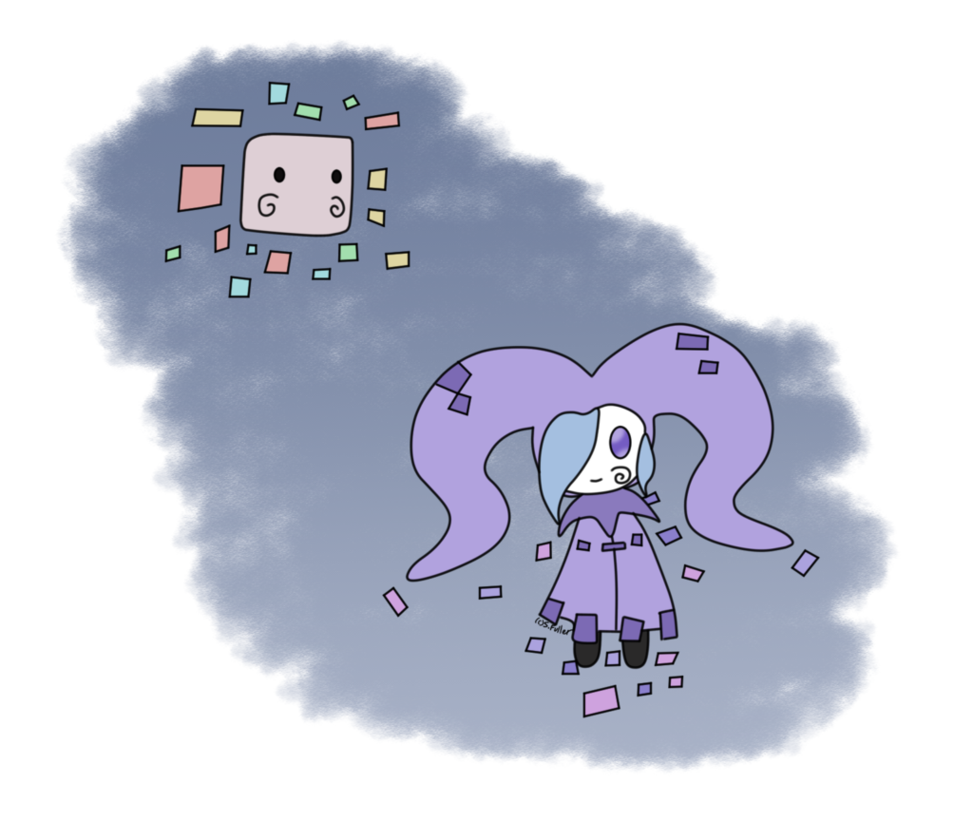 Lavender clipart pixel. Fakemon jester by usaritsu