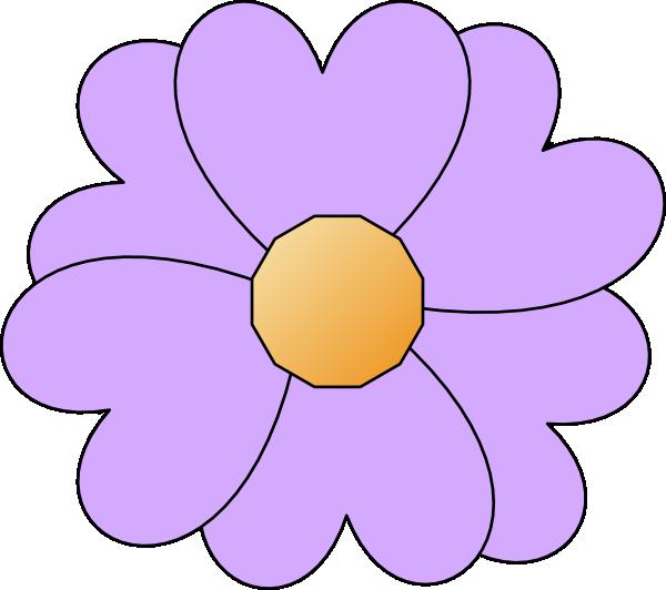 Purple flower clip art. Lavender clipart printable