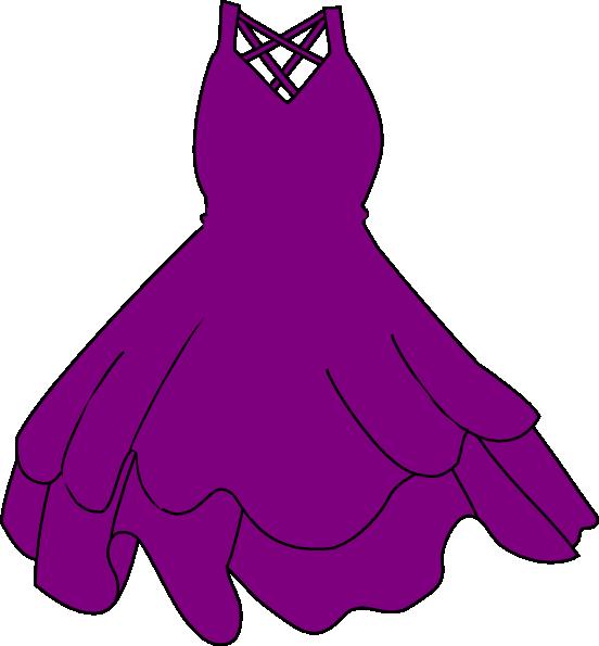Fashion dress clip art. Lavender clipart purple loosestrife