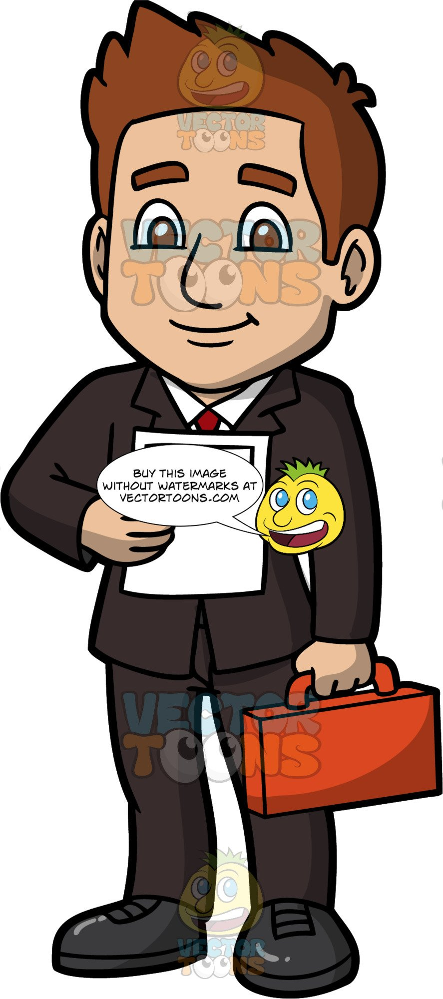 A holding legal brief. Lawyer clipart male lawyer
