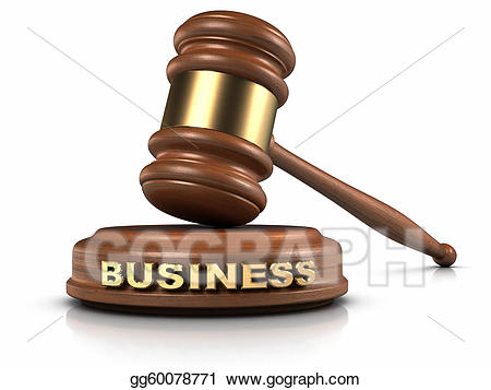 Law clipart business law. Stock illustration gg gograph