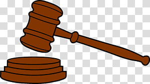 Judge gavel court hammer. Law clipart courtroom