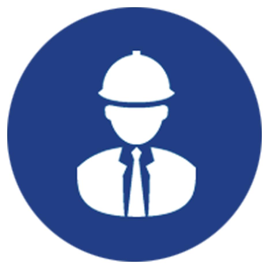 Goodrickes attorney icon. Legal clipart labour law