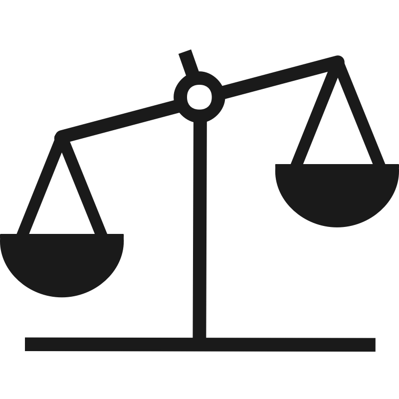 Laws clipart balance scale. Scales of justice clip