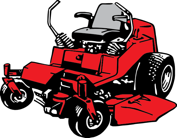 Lawn mower clip art. Lawnmower clipart