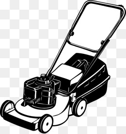 Lawn mower png images. Lawnmower clipart