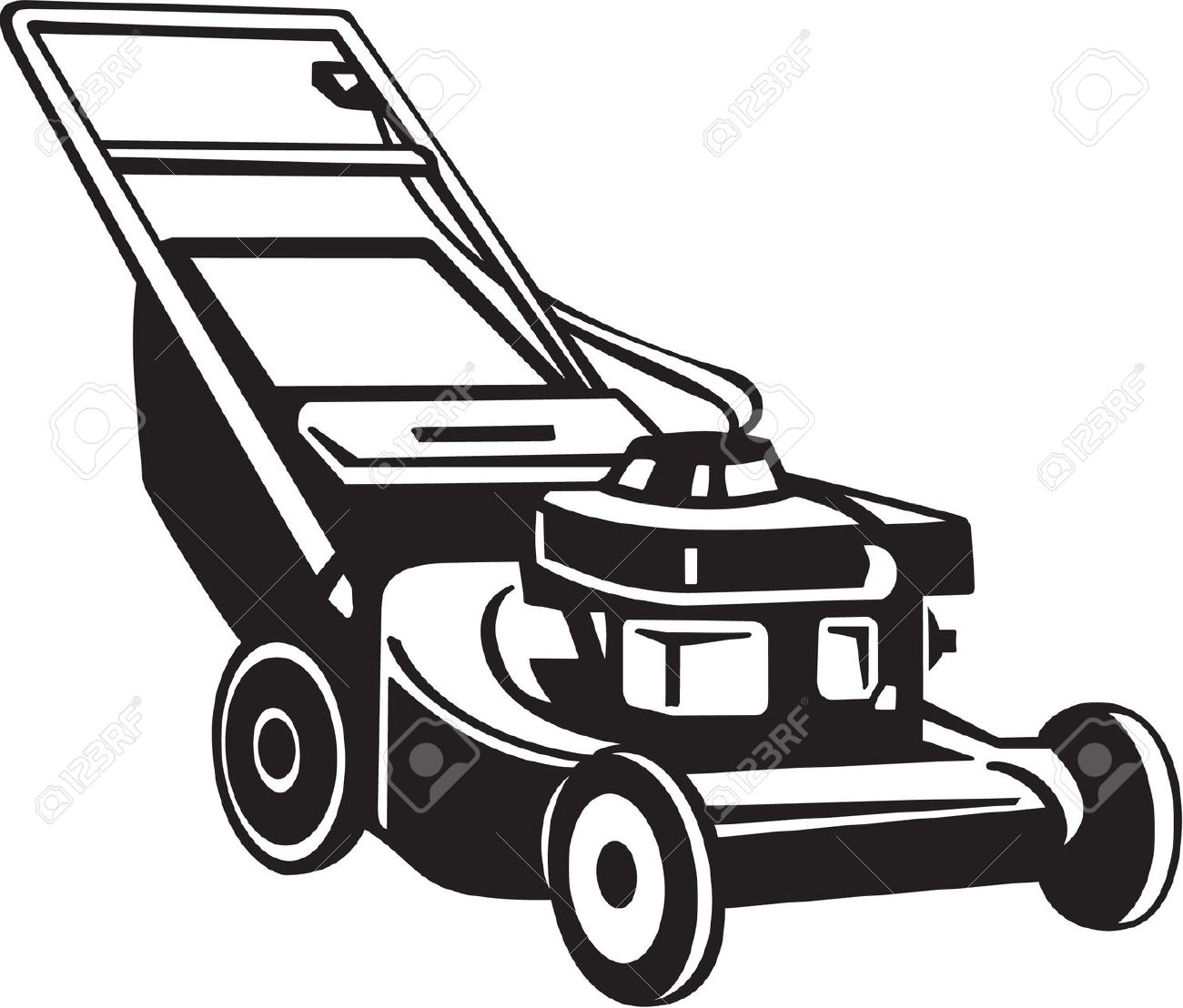 Mowing clipart small engine. Animated lawn mower free