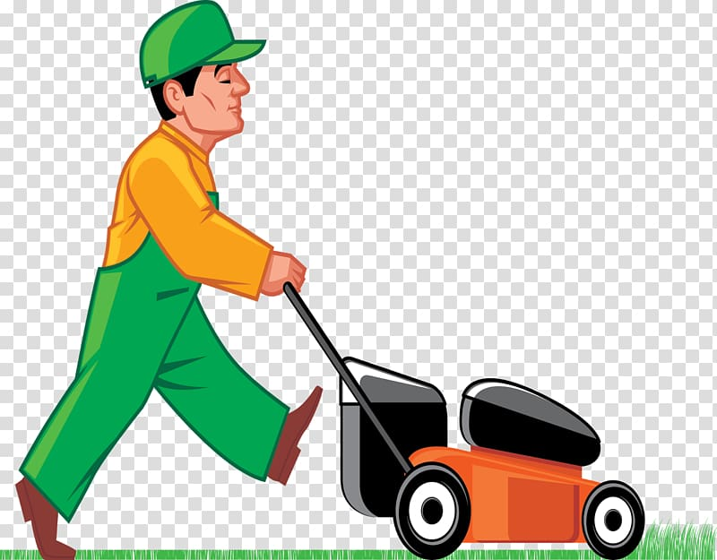 Shears clipart lawn tool. Mower cutting grass transparent