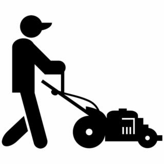 Mowing clipart lawnmower man. Lawn mower clip art
