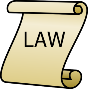 Laws clipart. Follow the law