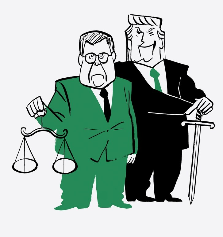 Rules clipart rule law. Trump barr and the