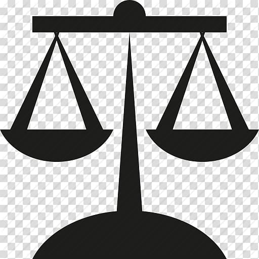 Balance scale silhouette illustration. Laws clipart solicitor