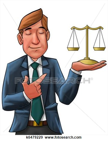 . Lawyer clipart