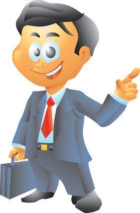 collection of male. Lawyer clipart