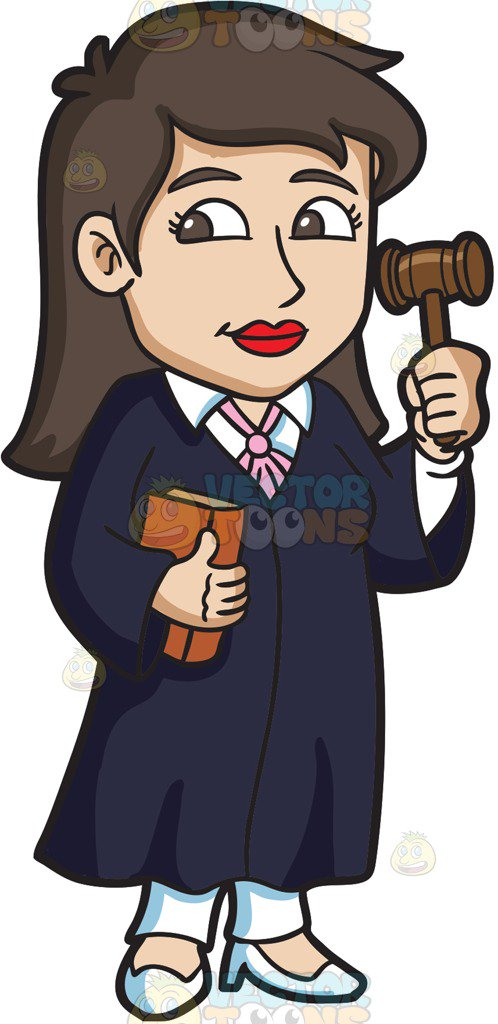 Lawyer clipart. Female station