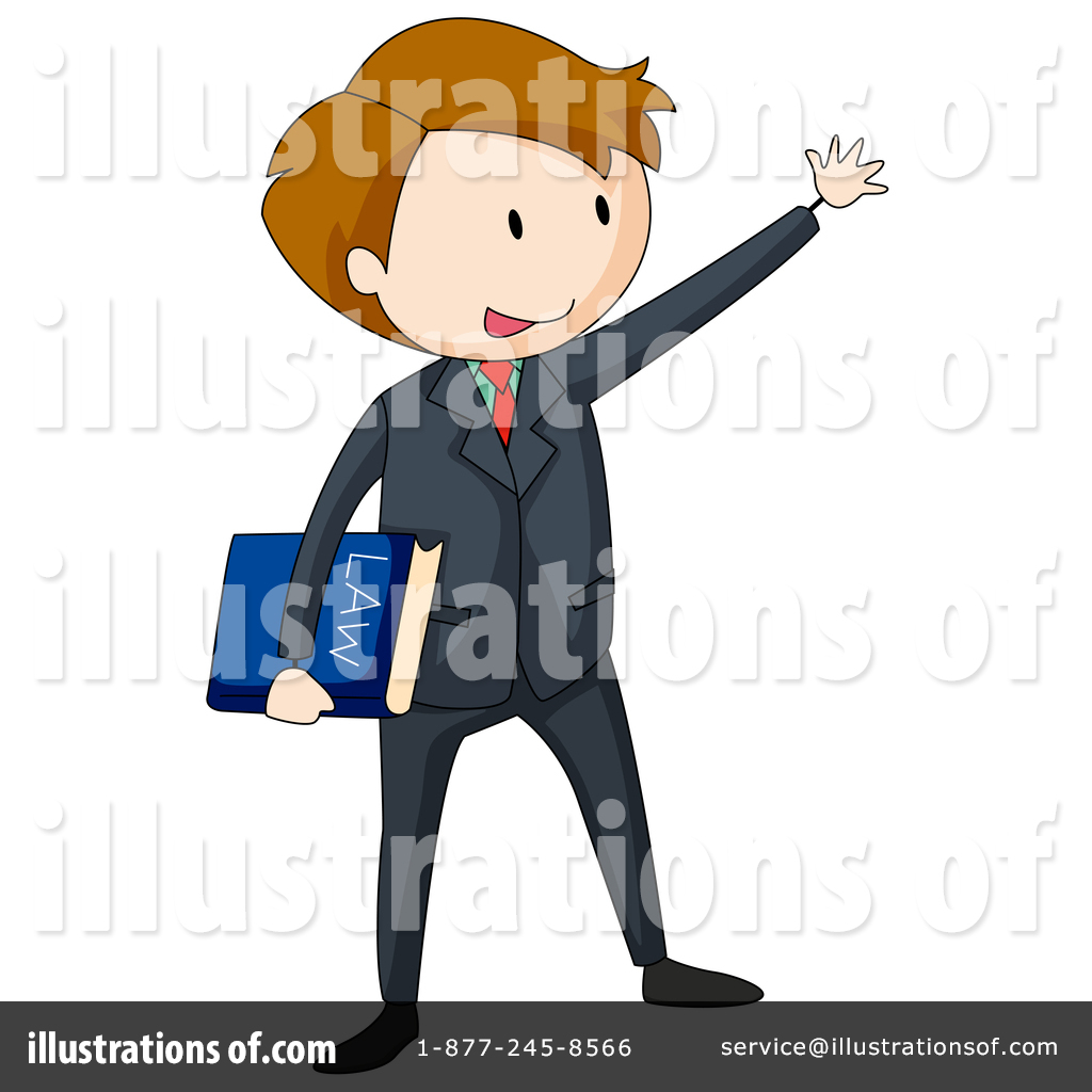 Illustration by graphics rf. Lawyer clipart