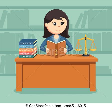 Station . Lawyer clipart female lawyer