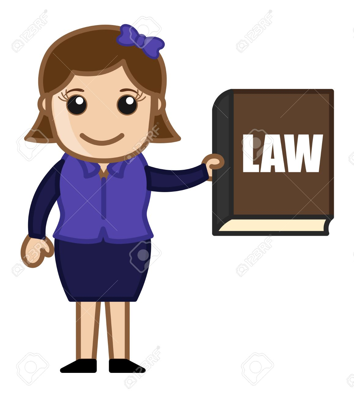 Lawyer clipart female lawyer. Station