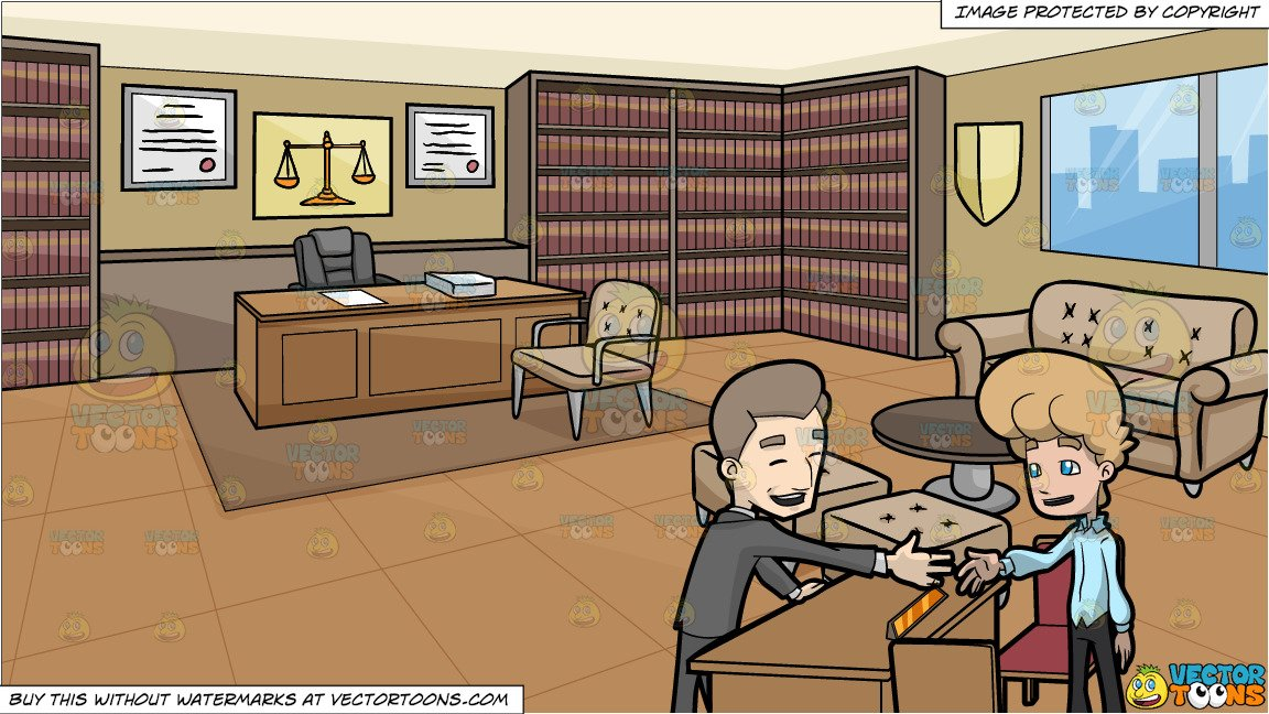 Lawyer clipart lawyer office. A guy shaking hands