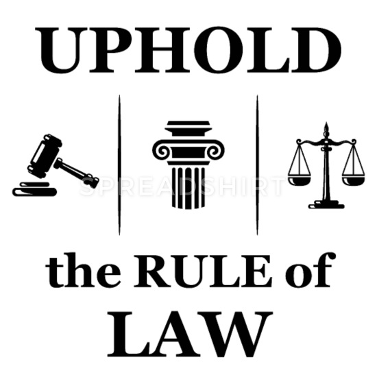 Attorney court uphold student. Lawyer clipart rule law