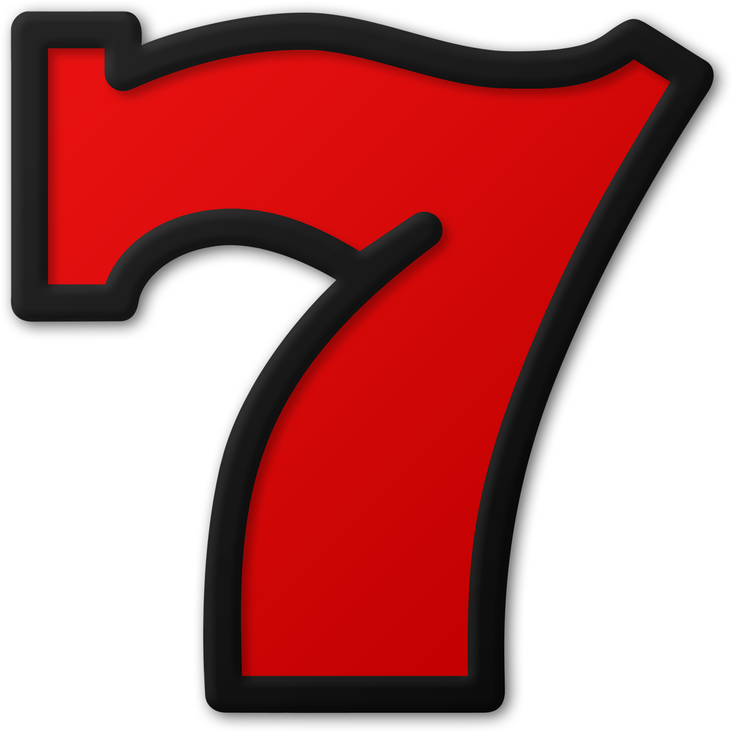 7 Number PNG Free Image | PNG Play | 1500x1500