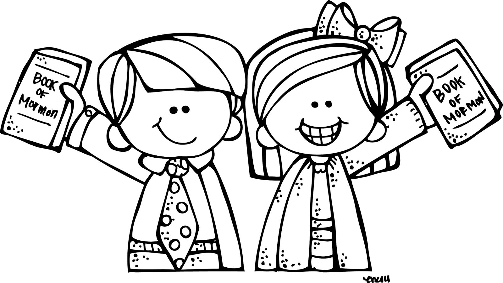 Primary clipart children