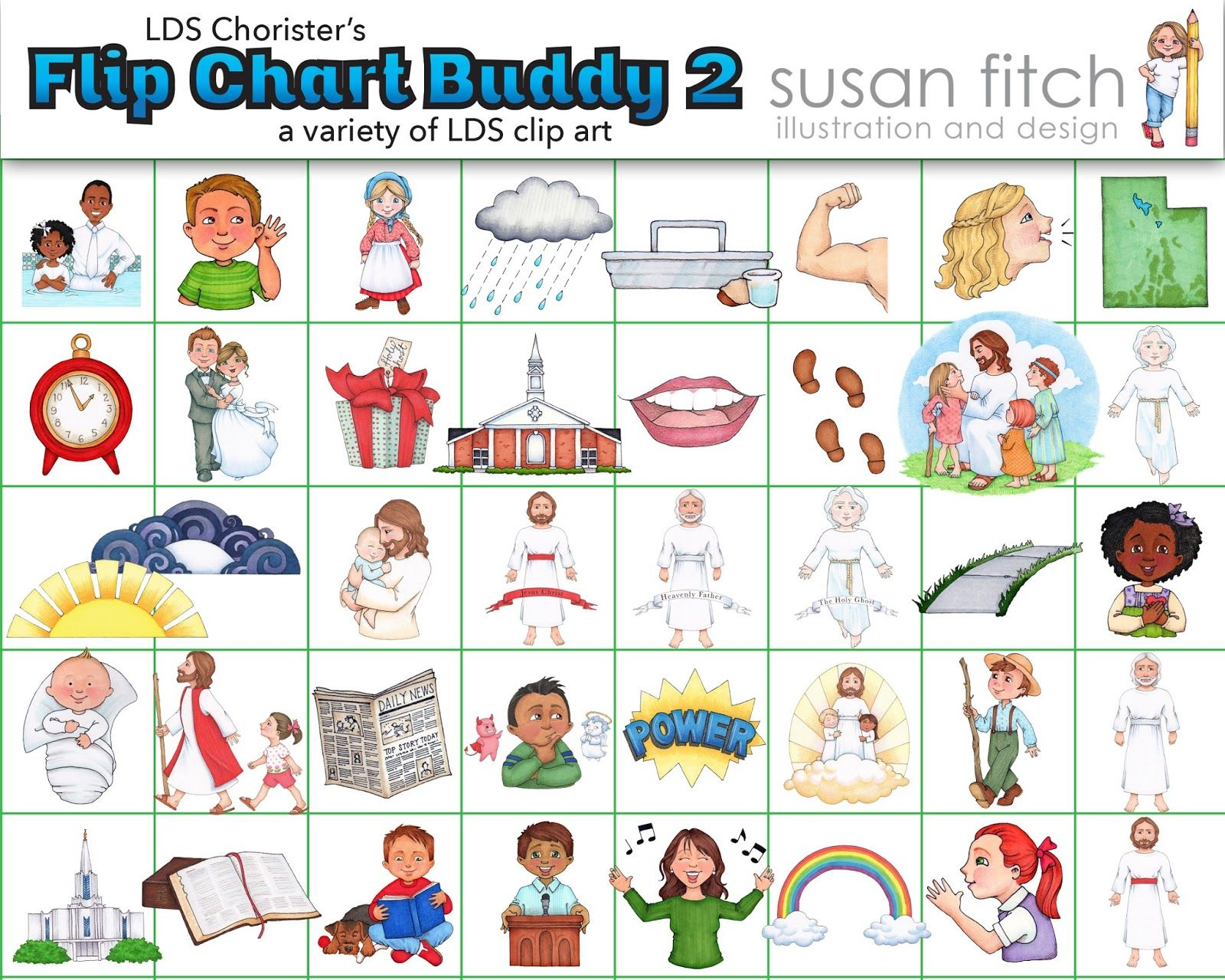 Lds clipart chart. Free clip art and